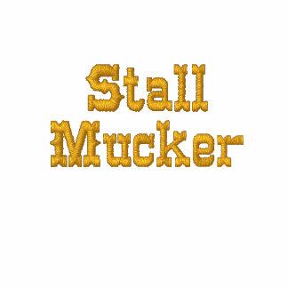 Stall-Mucking Fleece Bestickter Damen Reißverschluss Hoodie