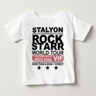 STALYON JESUS VIP ROCK STARR BABY T-SHIRT