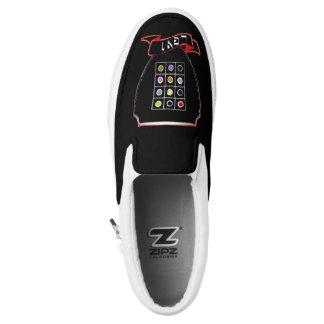 Stamm der Levi-Wappen Zipz Gewohnheits-Turnschuhe Slip-On Sneaker