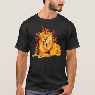Stamm Judah brennenden Löwes T-Shirt