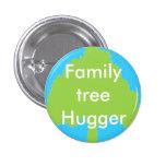 Stammbaum hugger Knopf Runder Button 3,2 Cm