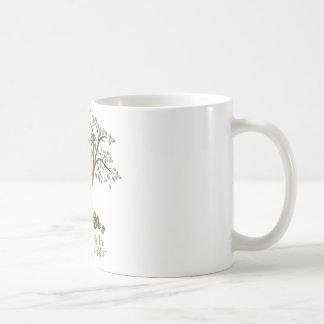 Stammbaum-Nüsse Kaffeetasse
