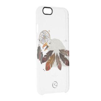 Stammes- amerikanischer Adler Durchsichtige iPhone 6/6S Hülle