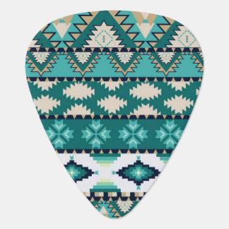 Stammes- aztekisches Muster Plektron