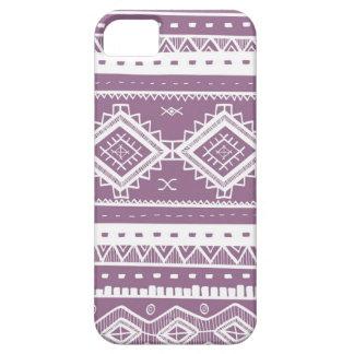Stammes- aztekisches Spitze-Muster (lila) Etui Fürs iPhone 5
