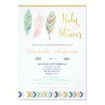 Stammes- Babyparty-Einladung/Boho Babyparty 12,7 X 17,8 Cm Einladungskarte