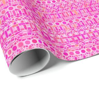 Stammes- Batik - pinkfarbenes Rosa, Magenta und Geschenkpapier