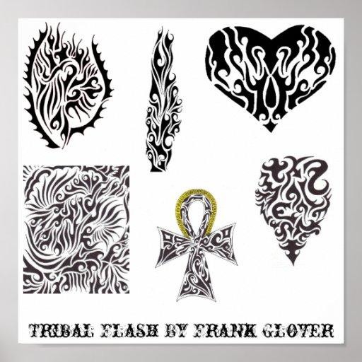 Stammes- Blitz der Sammlungs-1 durch FrankGlover Plakat