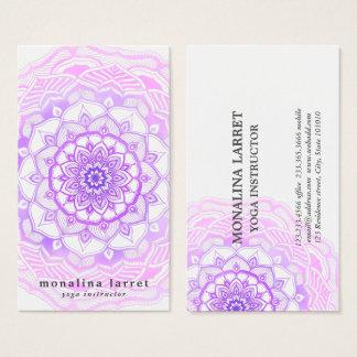 Stammes- böhmisches lila visitenkarte