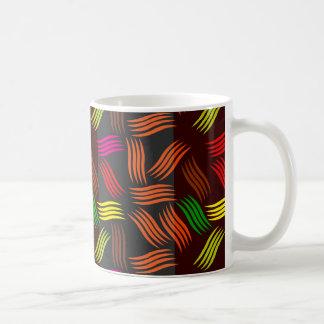 Stammes- buntes Muster Kaffeetasse