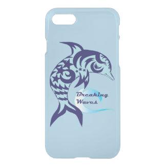 Stammes- Delphin-reflektierender Telefon-Kasten iPhone 8/7 Hülle