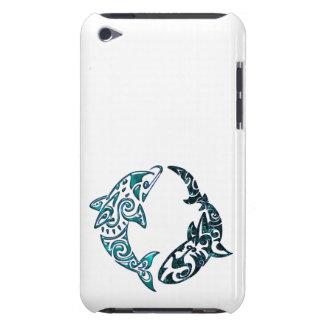 Stammes- Delphin-und Haifisch-Tätowierung Case-Mate iPod Touch Hülle