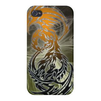 Stammes- Drachetelefonkasten iPhone 4 Etui