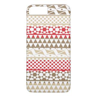 Stammes- Druck-Muster Navajo-geometrisches iPhone 8 Plus/7 Plus Hülle