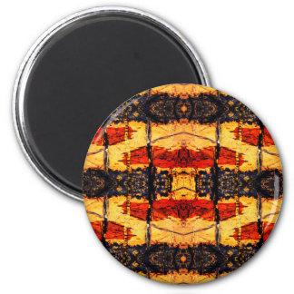Stammes- Fusion Runder Magnet 5,7 Cm
