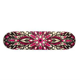 Stammes- geometrische rosa Mandala 18,1 Cm Old School Skateboard Deck