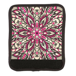 Stammes- geometrische rosa Mandala Koffergriffwickel