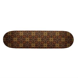 Stammes- geometrischer Druck Skate Board