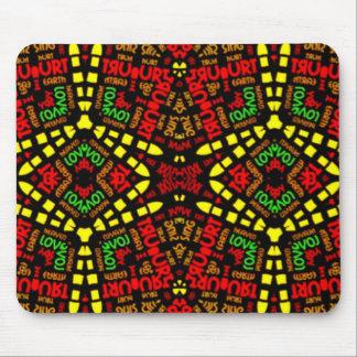 Stammes- Geschenke Mousepads