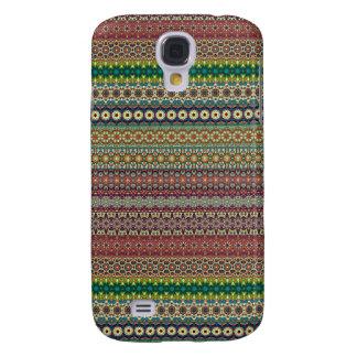 Stammes- gestreifter abstrakter Musterentwurf Galaxy S4 Hülle