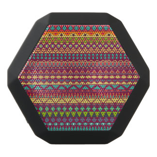 Stammes- gestreifter abstrakter Musterentwurf Schwarze Bluetooth Lautsprecher