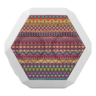 Stammes- gestreifter abstrakter Musterentwurf Weiße Bluetooth Lautsprecher