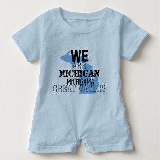 Stammes- großes Wasser Michigans Michigama Up Baby Strampler