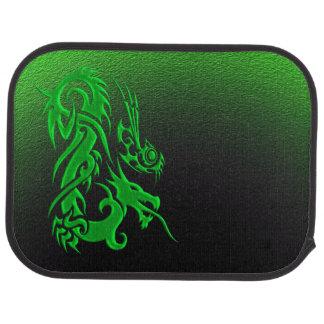 Stammes- Grün des Drachen 2 Autofußmatte