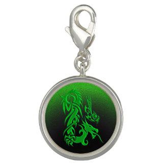Stammes- Grün des Drachen 2 Charms