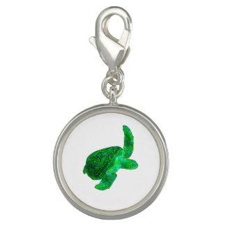 Stammes- grüne Meeresschildkröte Foto Charm