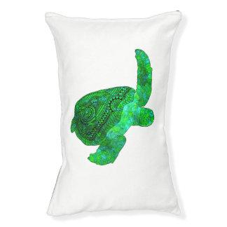 Stammes- grüne Meeresschildkröte Haustierbett