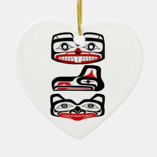 Stammes- Identität Keramik Ornament