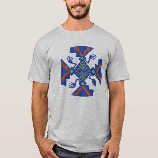 Stammes- indischer Inka-Geist-T - Shirt