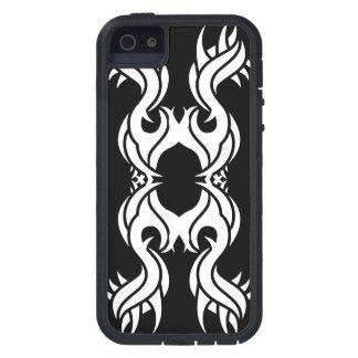 Stammes iphone 10 whit black zu over hülle fürs iPhone 5