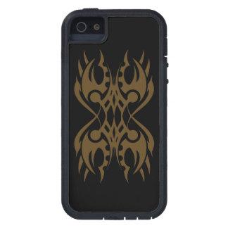 Stammes iphone 18 gold black over hülle fürs iPhone 5