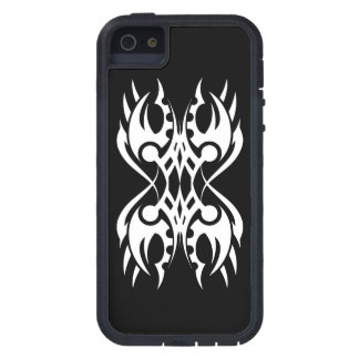 Stammes iphone 18 whit black zu over tough xtreme iPhone 5 hülle