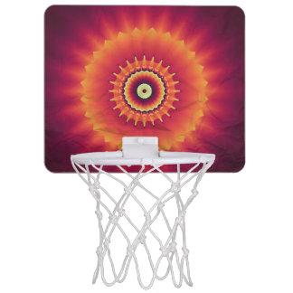 Stammes- Kaleidoskop-Basketball-Ziel Mini Basketball Ringe