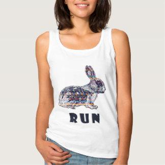Stammes- Kaninchen Tank Top