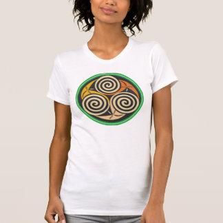 Stammes-/keltischer Entwurf T-Shirt