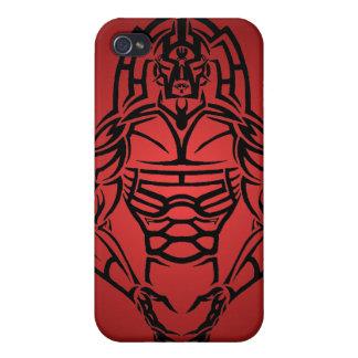 Stammes- Krieger IPhone Fall Schutzhülle Fürs iPhone 4