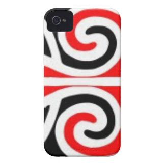 Stammes- Kunst der Maori- Entwürfe für Sie iPhone 4 Case-Mate Hülle