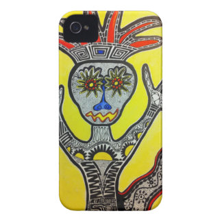 Stammes- Kunst iPhone Fall iPhone 4 Cover