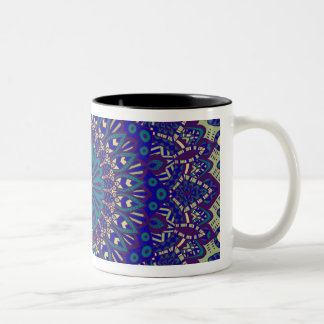 Stammes- Mandala Kaffeetasse