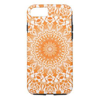 Stammes- Mandala-Orange iPhone 8/7 Hülle