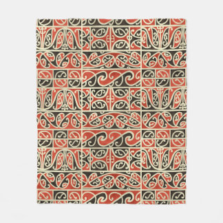 Stammes- Maori- Kowhaiwhai Koru Neuseeland Muster Fleecedecke
