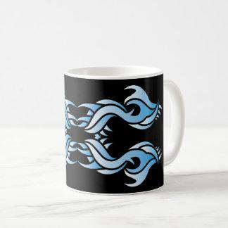 Stammes mug 8 blue black over kaffeetasse