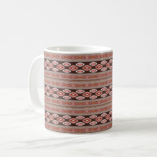 Stammes- Muster des südwestlichen Navajos Kaffeetasse