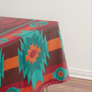 Stammes- Muster des südwestlichen Navajos Tischdecke