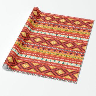 Stammes- Muster Geschenkpapier