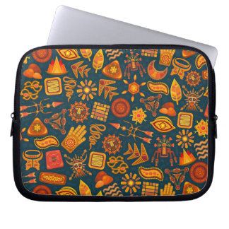 Stammes- Muster Laptop Sleeve